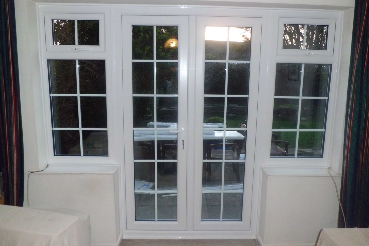 French patio doors replacement doors windows bexhill for Replacement french doors