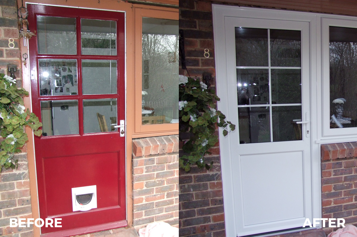 Collection pvc garage doors bexhill pictures for Window and door replacement company